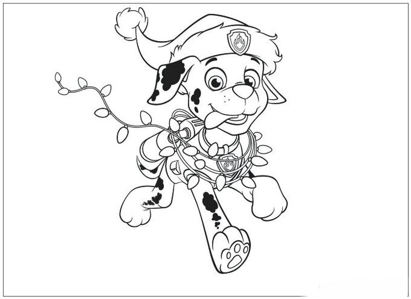 Paw Patrol Coloring Pages Halloween