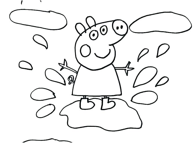Peppa Pig Coloring Pages Youtube