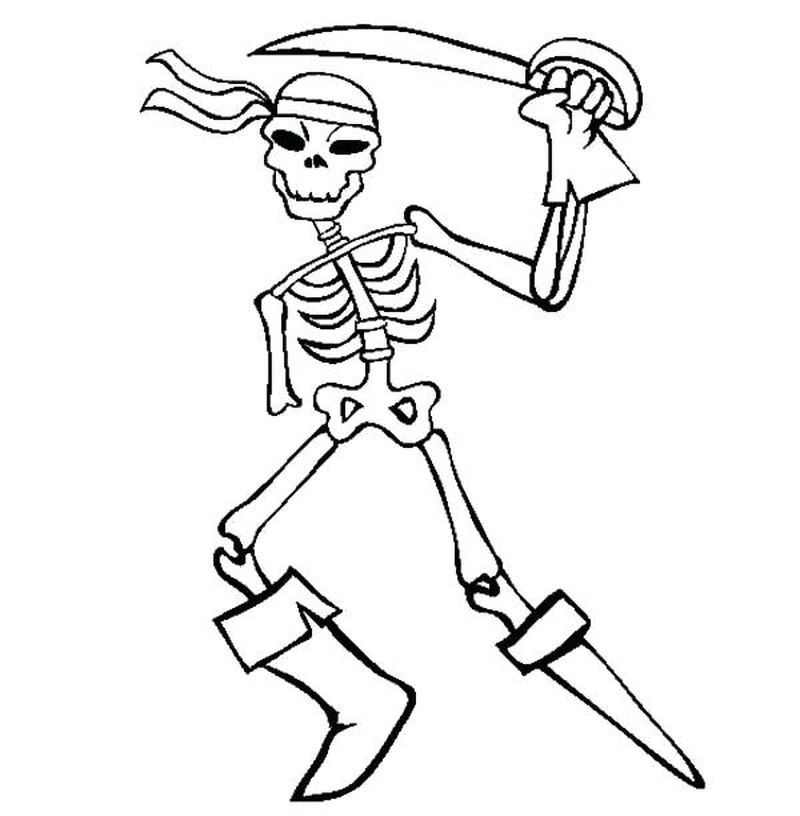 Pirate Coloring Pages Free Printable