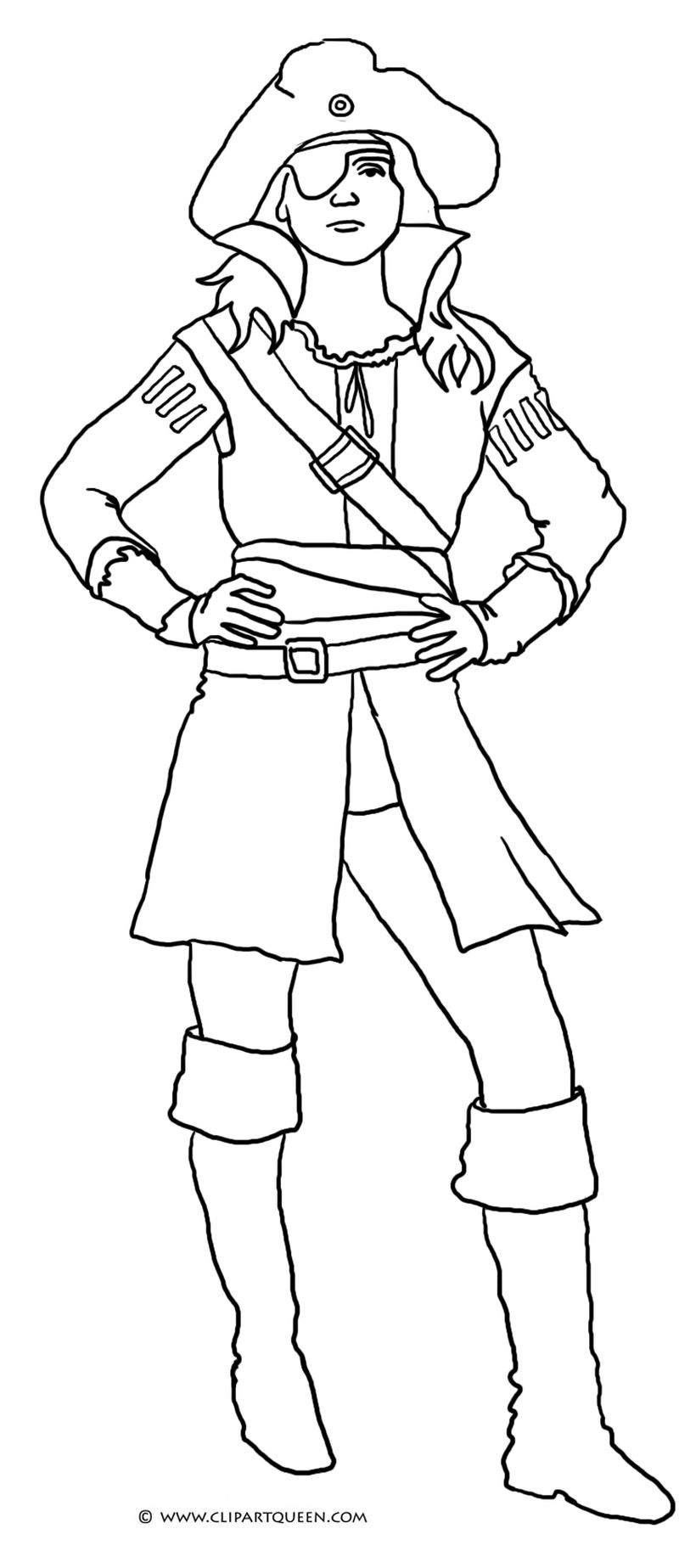 Pirate Coloring Pages Preschool