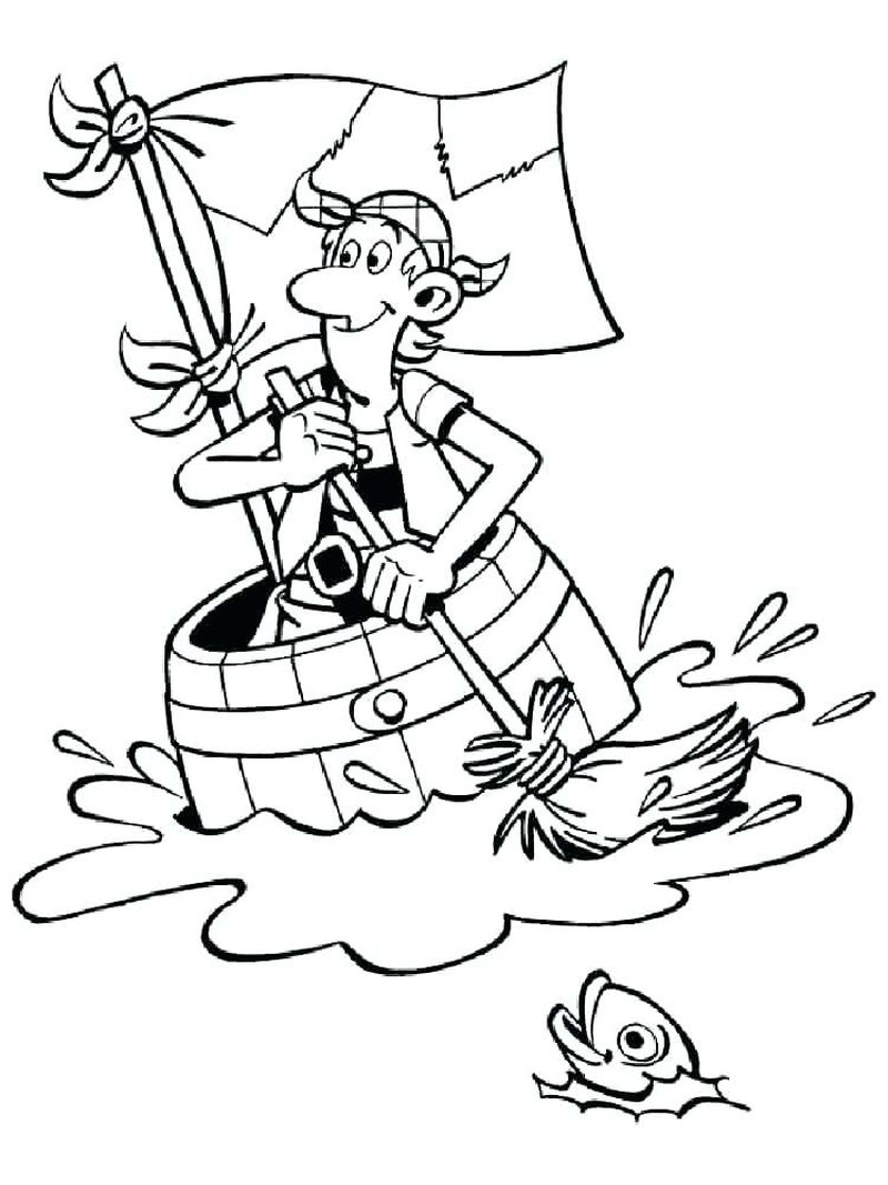 Pirate Colouring Pages Activity Village