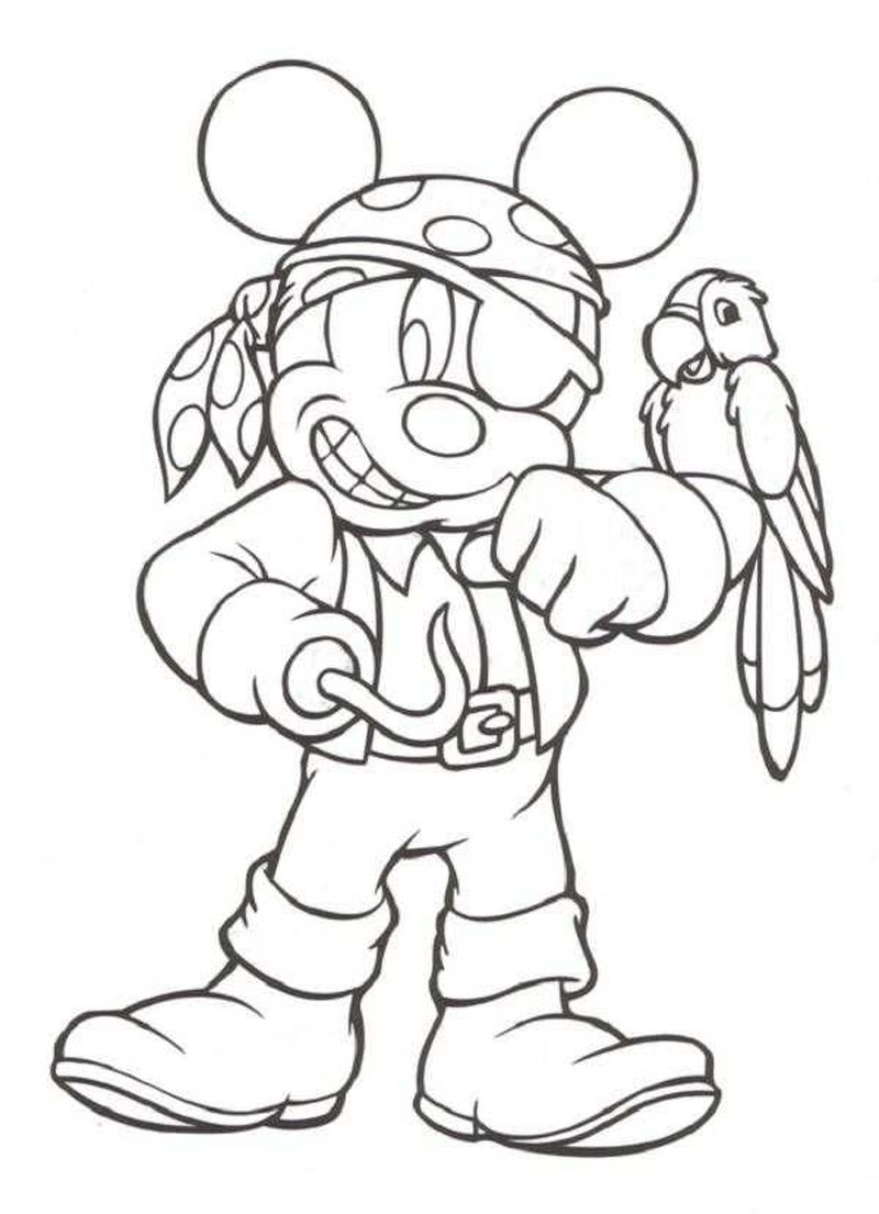 Pirate Colouring Pages Free Printable