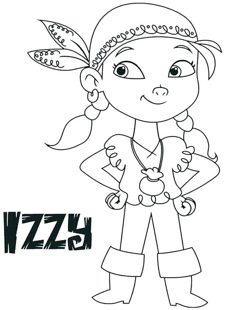 Pirate Colouring Pages Free