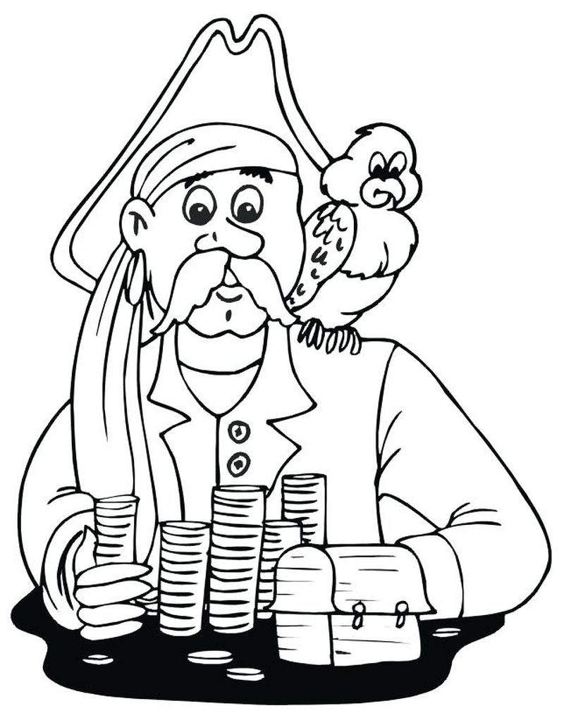 Pirate Colouring Pages Pdf