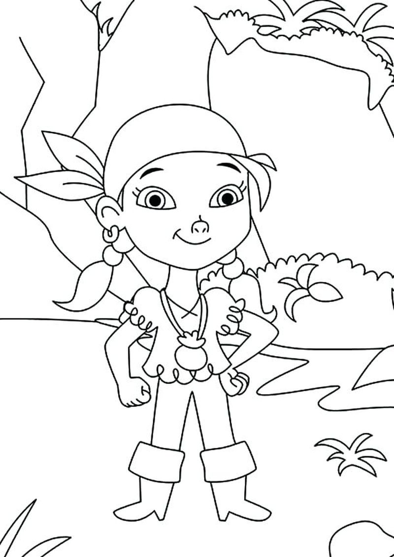 Pirate Colouring Pages Printable