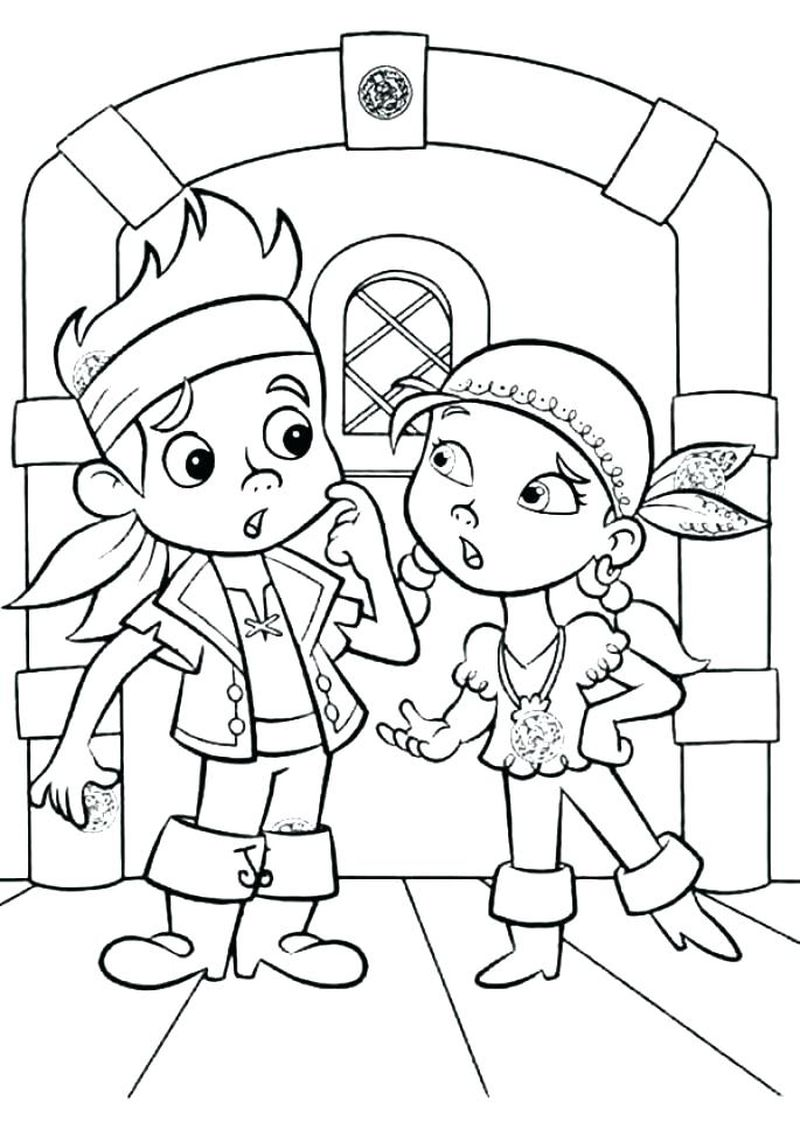 Pirate Colouring Pages Sparklebox