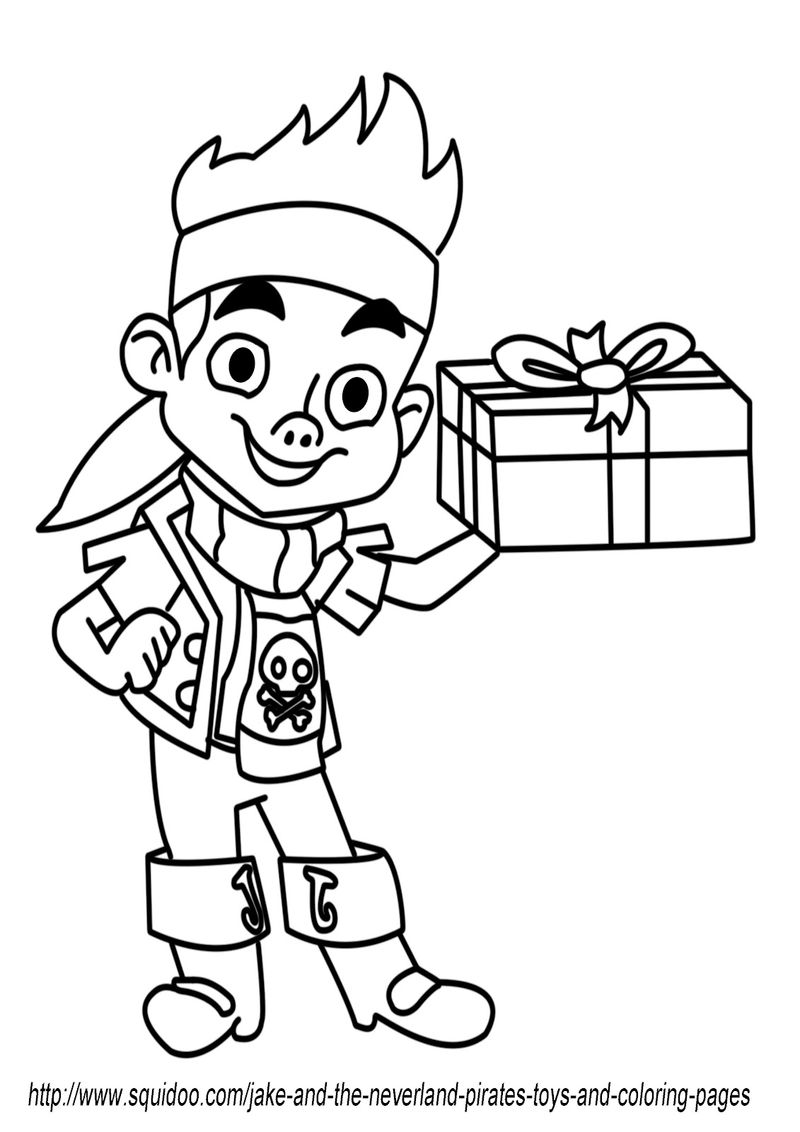 Pirate Day Coloring Pages