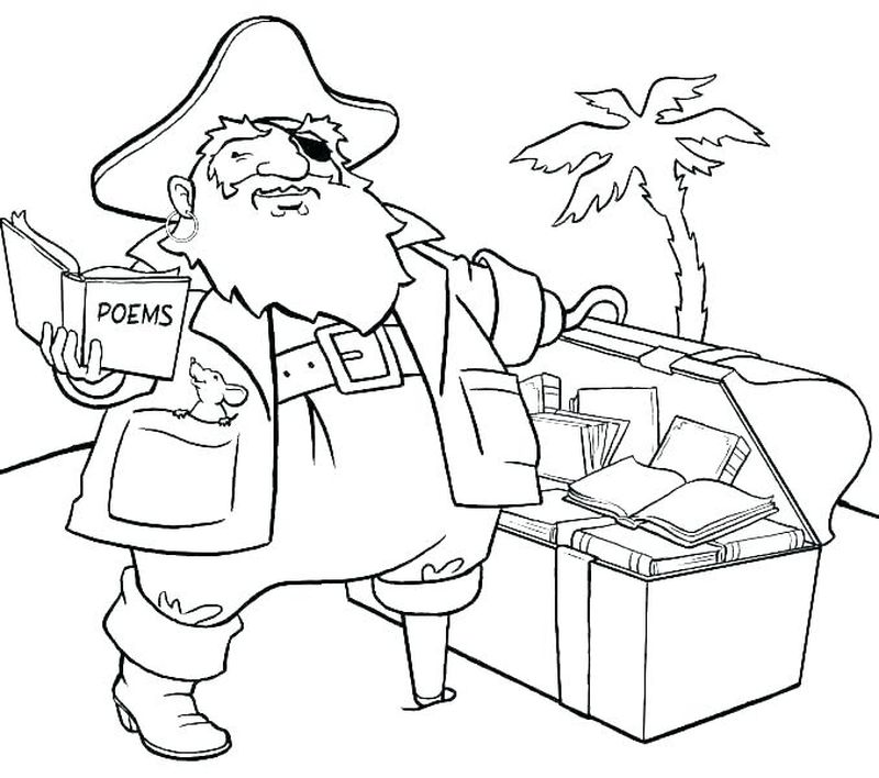 Pirate Dora Coloring Pages