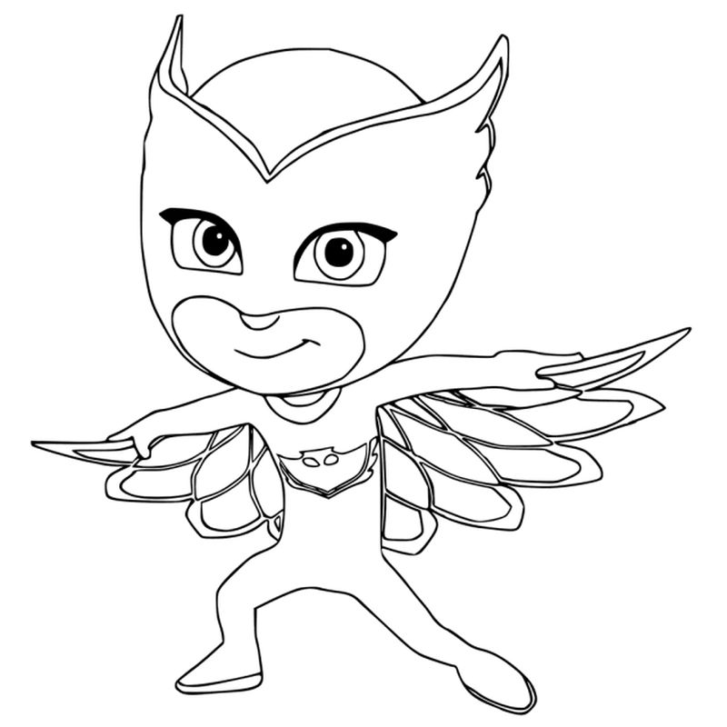 Pj Masks Coloring Pages Connor