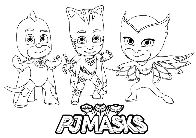 Pj Masks Coloring Pages Romeo