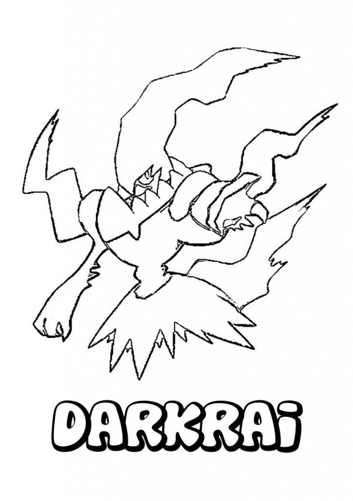 Pokemon Colouring Pages