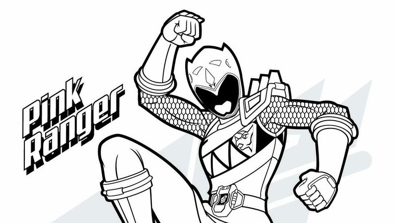 Power Rangers Coloring Pages Free Online