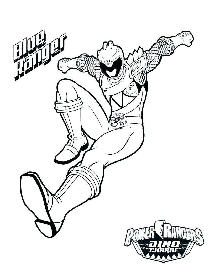 Power Rangers Coloring Pages Jungle Fury