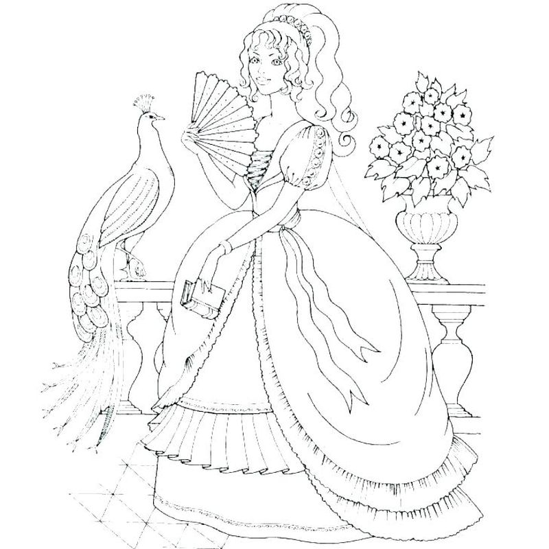 Princess Anna Coloring Pages