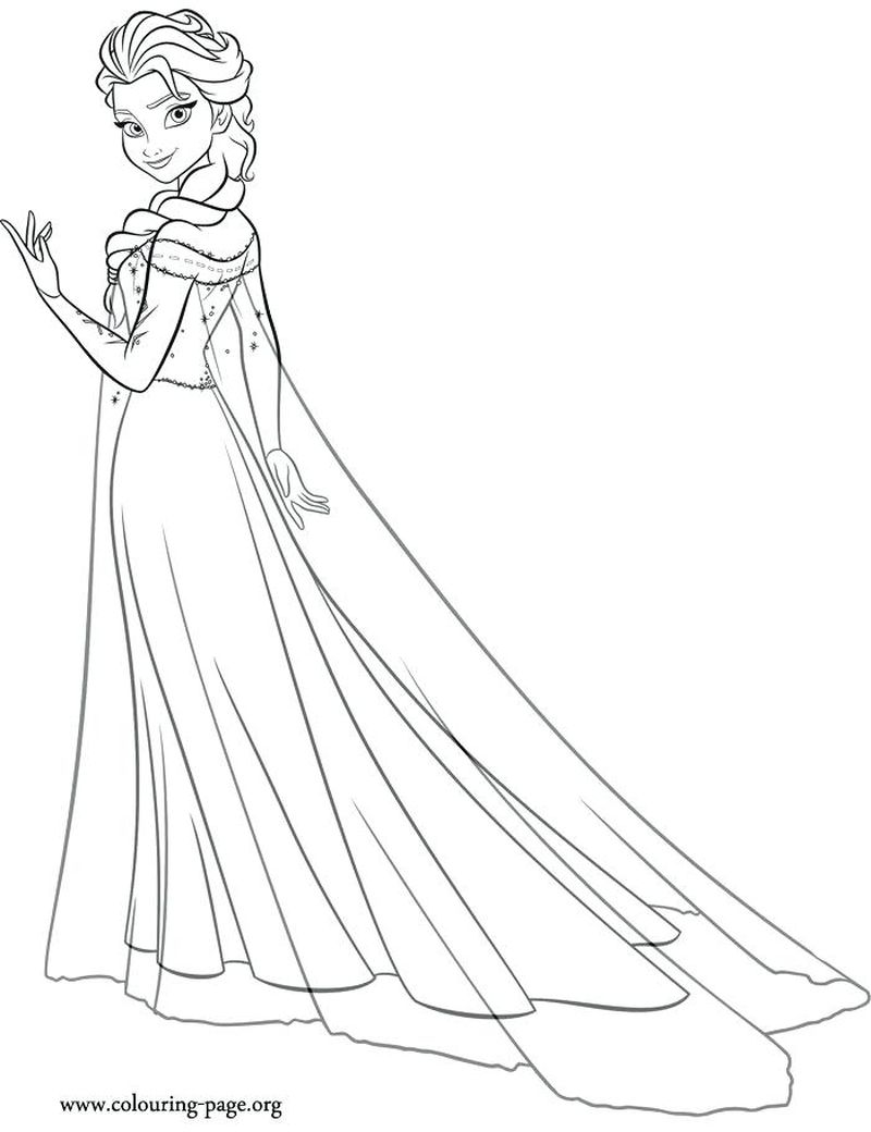 Princess Aurora Coloring Pages Free
