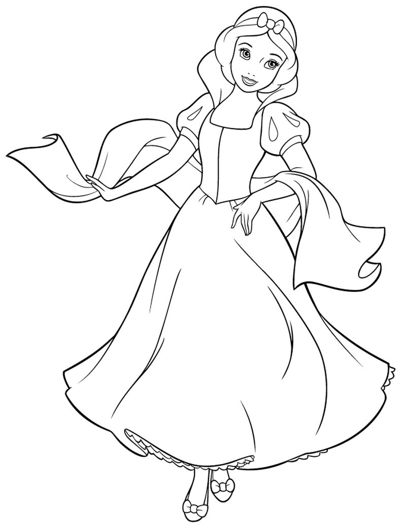 Princess Belle Coloring Pages Pdf