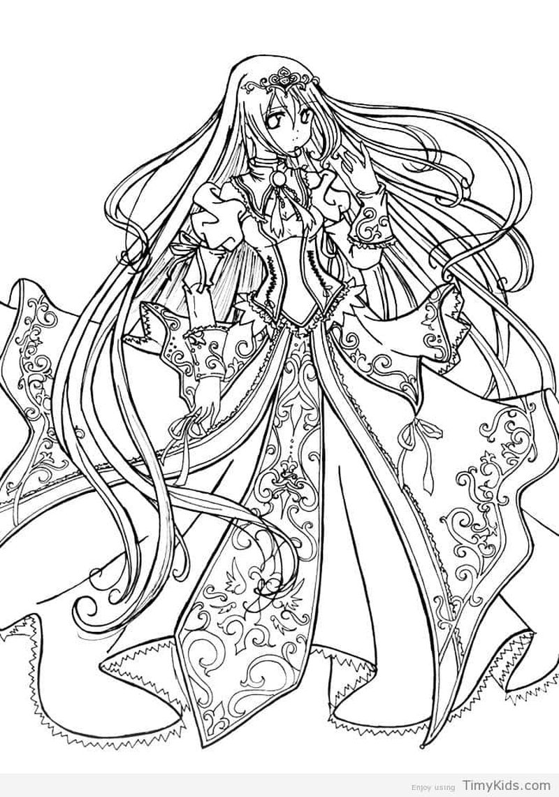 Princess Coloring Pages Jasmine