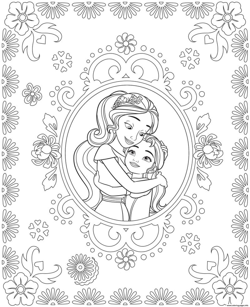 Princess Coloring Pages That You Can Print