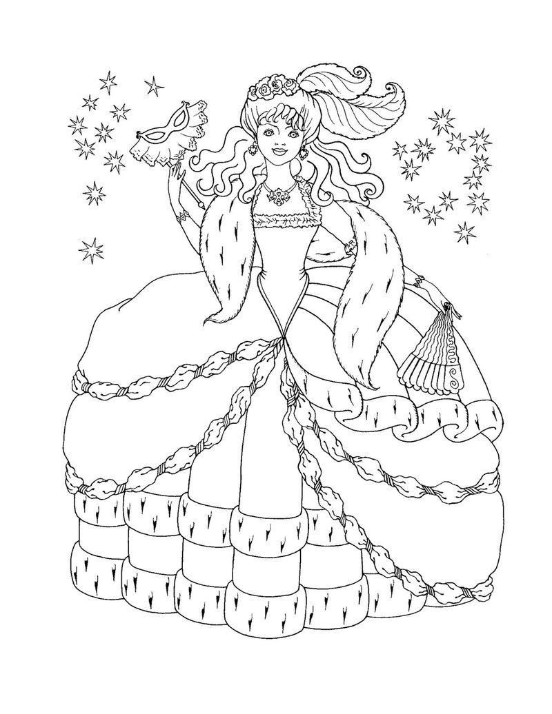Princess Coloring Pages To Color Online