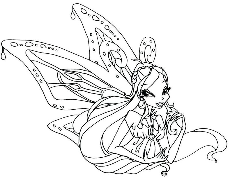 Princess Winx Coloring Pages