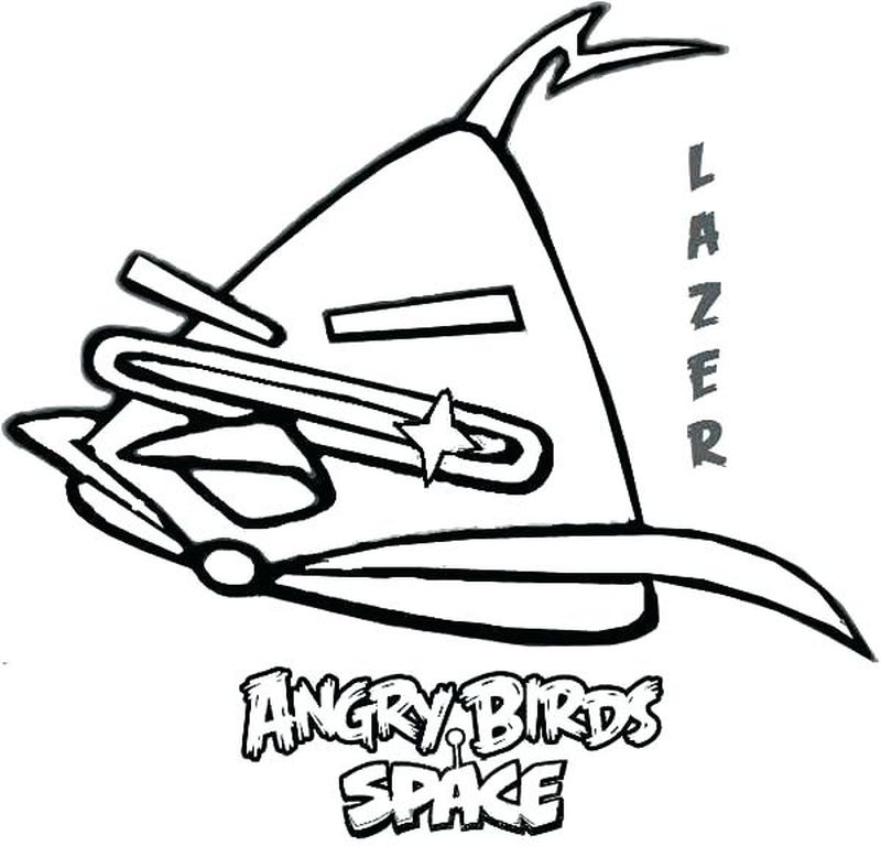 Print Angry Birds Coloring Pages
