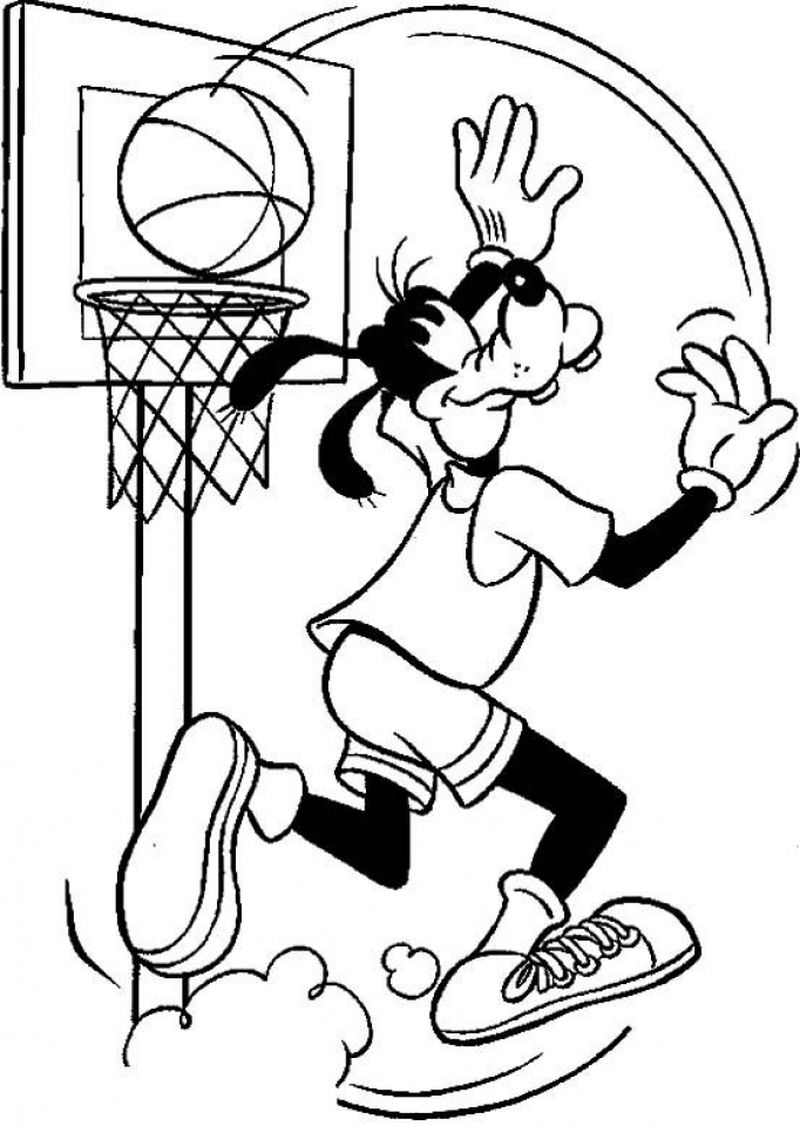 Printable Coloring Pages Of Iowa Basketball