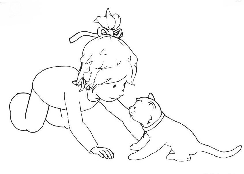 Printable Conni Coloring Pages