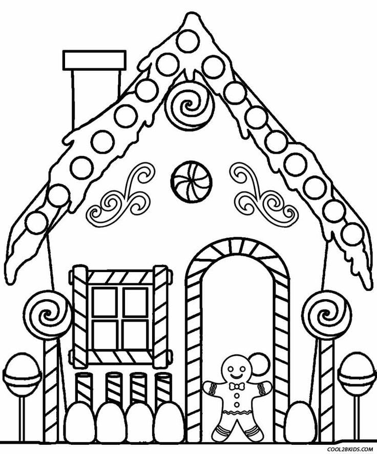 Printable House Coloring Pages For Adults