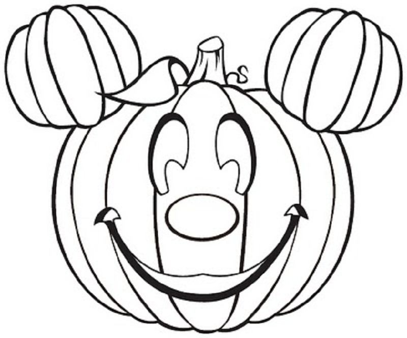 Pumpkin Coloring Pages Christian