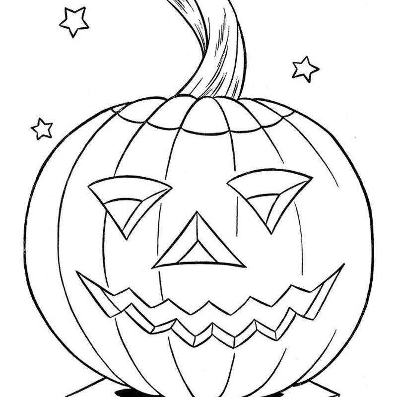 Pumpkin Coloring Pages For Adults