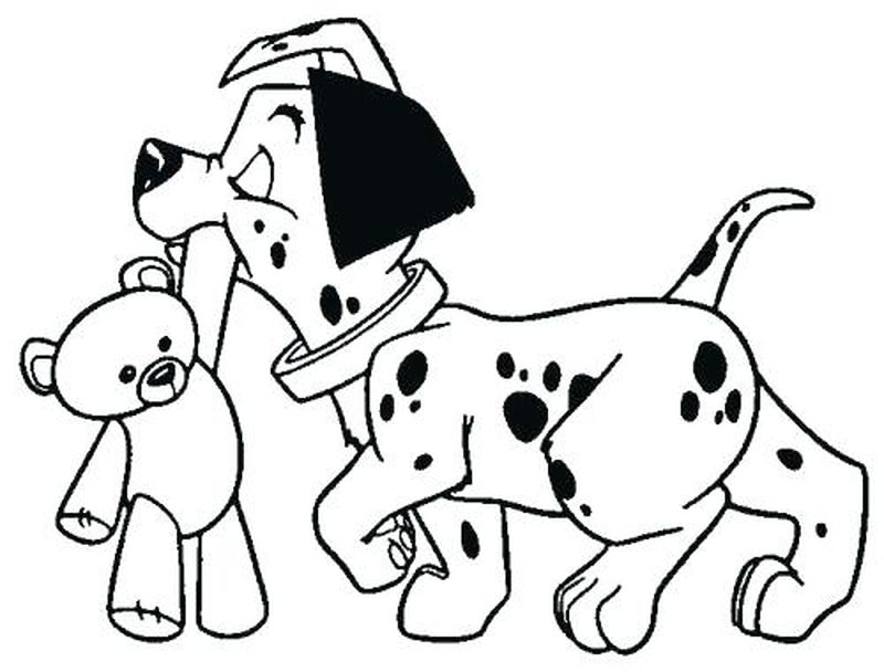 Puppy Coloring Pages Cute