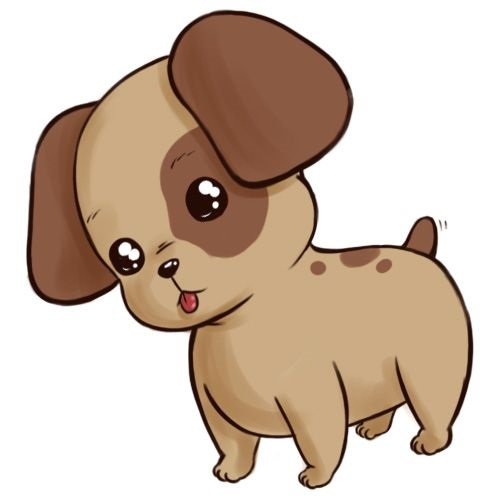 Puppy Coloring Pages Easy