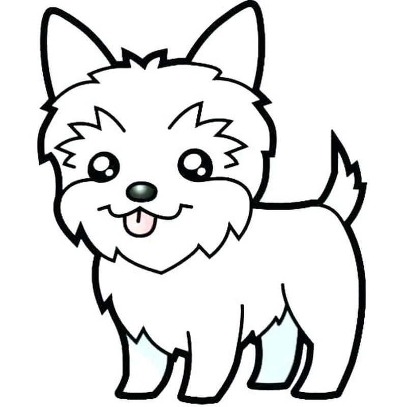 Puppy Coloring Pages Images