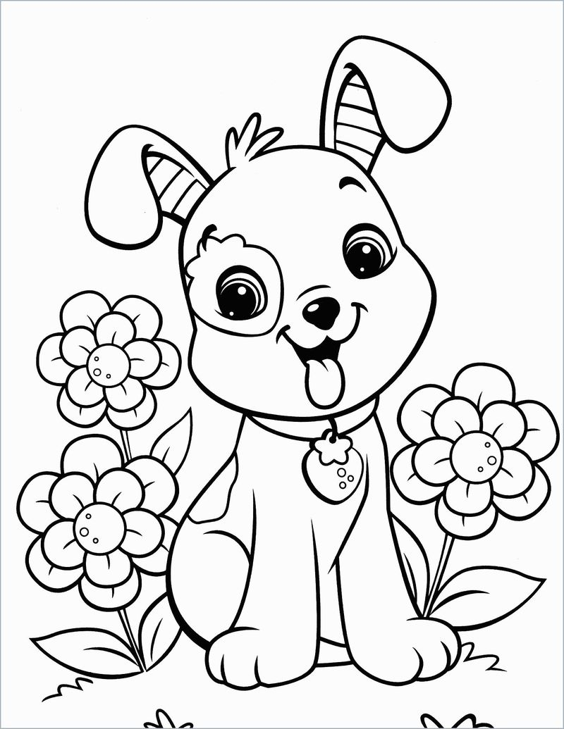 Puppy Coloring Pages That You Can Print