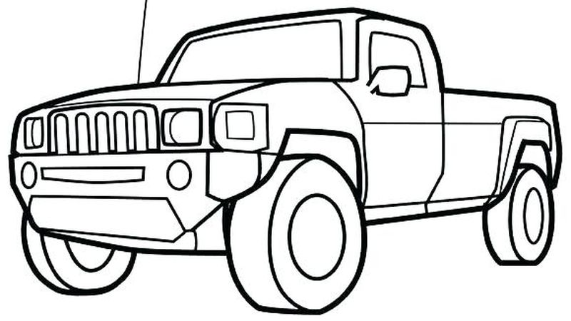 Race Car Coloring Page Free Printable