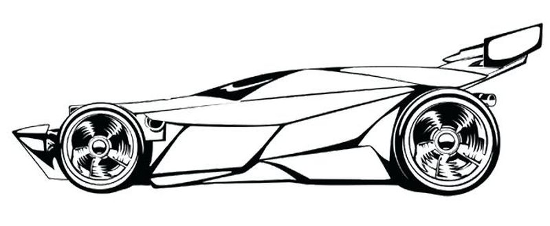Race Car Coloring Pages Printable