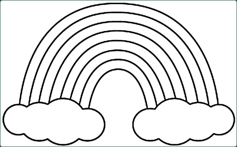 Rainbow Coloring Pages Free To Print
