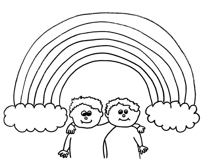 Rainbow Coloring Pages Online
