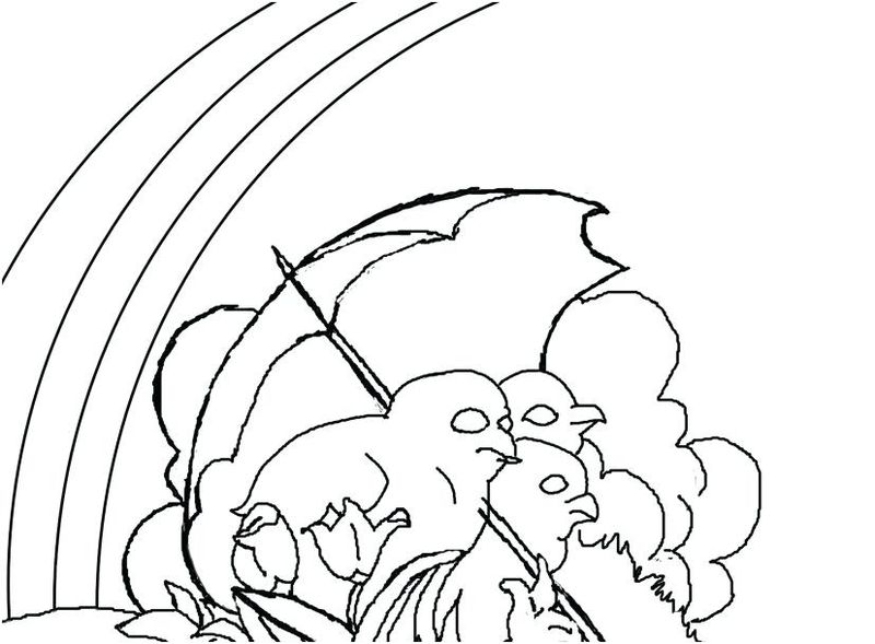 Rainbow Coloring Pages Pdf