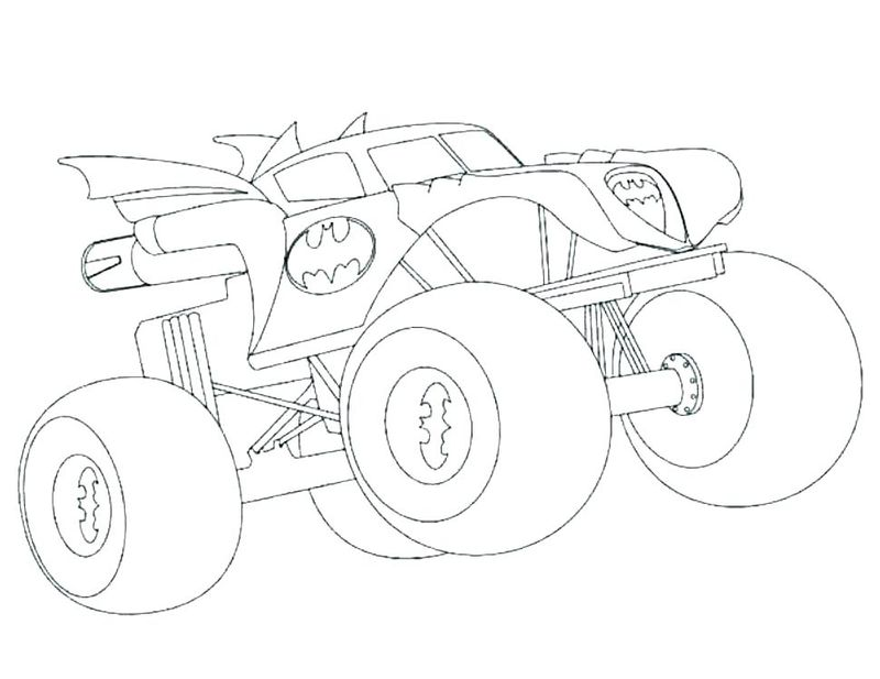 Real Hot Wheels Coloring Pages