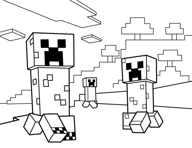 Roblox Coloring Page Free