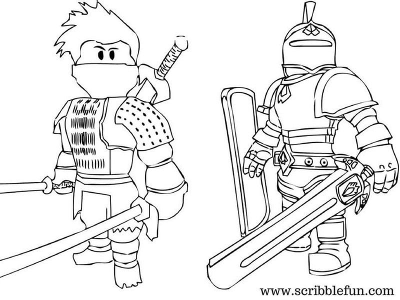 Roblox Coloring Pages Online