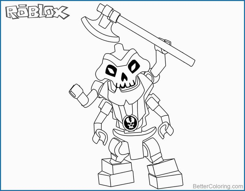 Roblox Coloring Pages Pdf