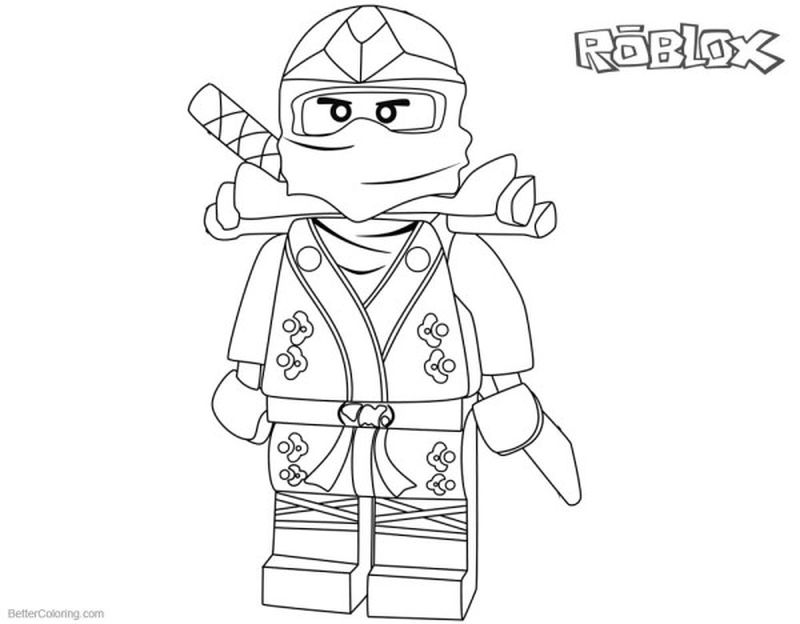 Roblox Football Coloring Pages