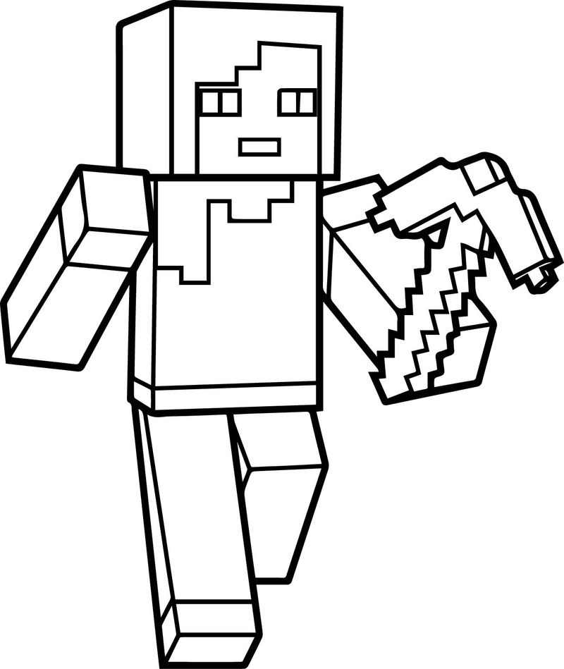 Roblox Guest Coloring Pages