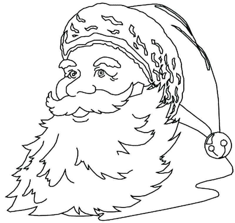 Santa And Mrs Claus Coloring Pages