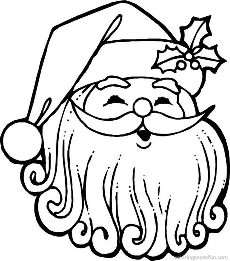 Santa Claus And Snowman Coloring Pages