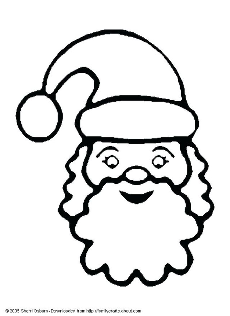 Santa Claus For Coloring Pages