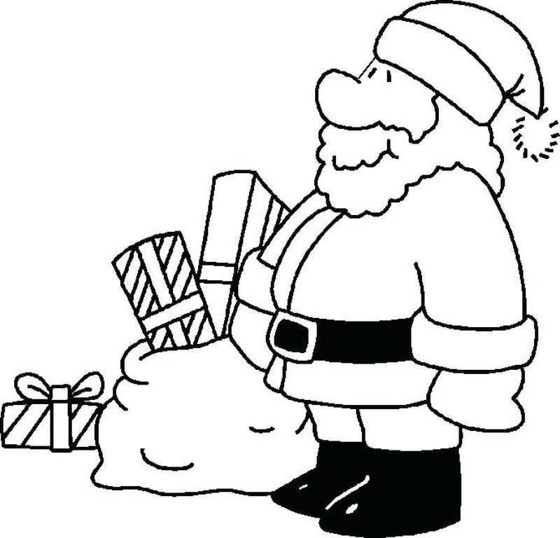 Santa Claus Is Comin To Town Coloring Page