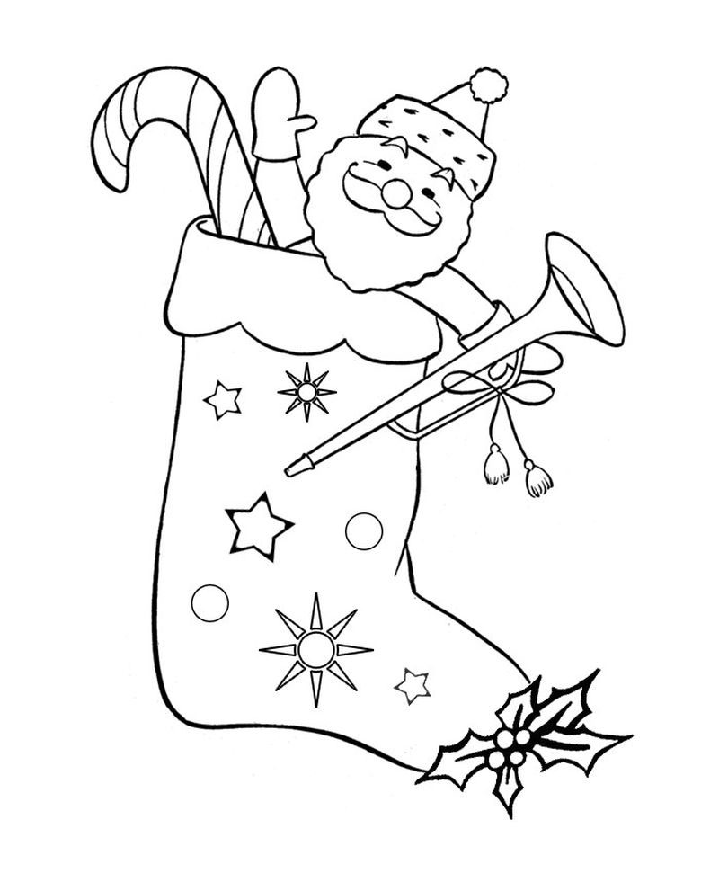 Santa Claus Is Comin To Town Coloring Pages